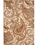 RugStudio presents Orian Anthology Windsor 1424 White Beige Machine Woven, Good Quality Area Rug