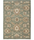 RugStudio presents Orian Anthology Zanzibar 1412 Blue Green Machine Woven, Good Quality Area Rug