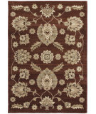 RugStudio presents Orian Anthology Zanzibar 1413 Brown Machine Woven, Good Quality Area Rug