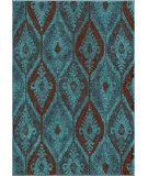 RugStudio presents Orian Cadence 3001 Aqua Machine Woven, Good Quality Area Rug