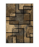 RugStudio presents Orian Eclipse 3301 Silver Machine Woven, Good Quality Area Rug