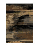 RugStudio presents Orian Eclipse 3304 Black Machine Woven, Good Quality Area Rug
