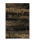 RugStudio presents Orian Eclipse 3305 Black Machine Woven, Good Quality Area Rug