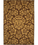 RugStudio presents Orian Four Seasons Sonoma Outdoor Benton 1814 Brown Sugar Machine Woven, Good Quality Area Rug