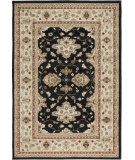 RugStudio presents Orian Four Seasons Sonoma Outdoor Shazad 1808 Black Machine Woven, Good Quality Area Rug