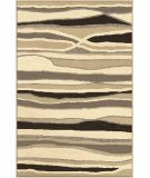 RugStudio presents Orian Four Seasons Alfresco Stripe driftwood Machine Woven, Good Quality Area Rug