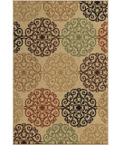 RugStudio presents Orian Four Seasons Catalina bisque Machine Woven, Good Quality Area Rug