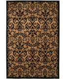 RugStudio presents Orian Four Seasons Sylvain black Machine Woven, Good Quality Area Rug
