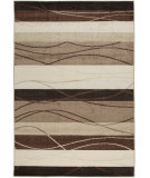 RugStudio presents Orian Four Seasons Tonal Stripe mink Machine Woven, Good Quality Area Rug