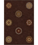 RugStudio presents Orian Harmony Arcadia brown Machine Woven, Better Quality Area Rug