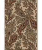 RugStudio presents Orian Harmony Corina Paisley khaki Machine Woven, Better Quality Area Rug