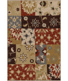RugStudio presents Orian Harmony Eclectic Patchwork multi Machine Woven, Better Quality Area Rug