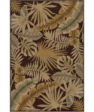 RugStudio presents Orian Harmony Floridian Garden brown Machine Woven, Better Quality Area Rug