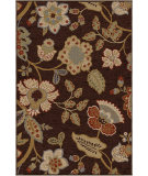 RugStudio presents Orian Harmony Layla brown Machine Woven, Better Quality Area Rug