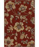RugStudio presents Orian Harmony Margeaux cinnabar Machine Woven, Better Quality Area Rug
