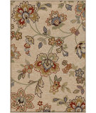 RugStudio presents Orian Harmony Margeaux khaki Machine Woven, Better Quality Area Rug