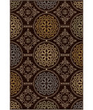 RugStudio presents Orian Harmony Mazarin brown Machine Woven, Better Quality Area Rug