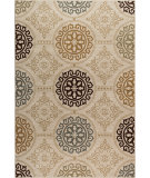 RugStudio presents Orian Harmony Mazarin khaki Machine Woven, Better Quality Area Rug