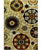 RugStudio presents Orian Harmony Morocco khaki Machine Woven, Better Quality Area Rug