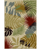 RugStudio presents Orian Harmony Tropical Shadows khaki Machine Woven, Better Quality Area Rug