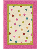 RugStudio presents Orian Kids Court 3103 Pink Machine Woven, Good Quality Area Rug