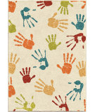 RugStudio presents Orian Kids Court 3111 Ivory Machine Woven, Good Quality Area Rug