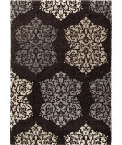 RugStudio presents Orian Metropolitan Arrington 1648 Black / Gray Machine Woven, Good Quality Area Rug
