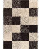 RugStudio presents Orian Metropolitan Faculty 1651 Black / Gray Machine Woven, Good Quality Area Rug