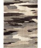 RugStudio presents Orian Metropolitan Cumulus 1663 Gold / Cream / Beige Machine Woven, Good Quality Area Rug