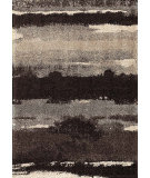 RugStudio presents Orian Metropolitan Canyon 1666 Black / Gray Machine Woven, Good Quality Area Rug