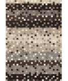 RugStudio presents Orian Metropolitan Fleck 1672 Black / Gray Machine Woven, Good Quality Area Rug