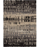 RugStudio presents Orian Metropolitan City Drizzle 1673 Black / Gray Machine Woven, Good Quality Area Rug