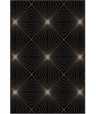 RugStudio presents Orian Nuance Twilight 2002 Black / Gray Machine Woven, Good Quality Area Rug