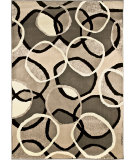 RugStudio presents Orian Nuance Halo multi Machine Woven, Good Quality Area Rug