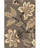 RugStudio presents Orian Nuance Lily taupe Machine Woven, Good Quality Area Rug