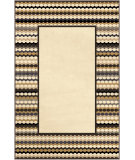 RugStudio presents Orian Nuance Newport Border lambswool Machine Woven, Good Quality Area Rug