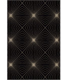 RugStudio presents Orian Nuance Twilight black Machine Woven, Good Quality Area Rug