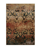 RugStudio presents Orian Radiance 3200 Blue Machine Woven, Good Quality Area Rug