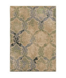 RugStudio presents Orian Radiance 3205 Green Machine Woven, Good Quality Area Rug