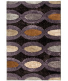 RugStudio presents Orian Shine On Framespot dark seal Machine Woven, Good Quality Area Rug