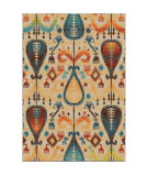 RugStudio presents Orian Spoleto 2817 White Machine Woven, Good Quality Area Rug