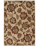 RugStudio presents Orian Stria Lovington 1520 Ivory Machine Woven, Better Quality Area Rug