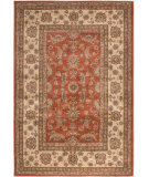 RugStudio presents Orian Stria Manderville 1511 Cinnabar Machine Woven, Better Quality Area Rug