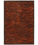 RugStudio presents Orian Stria Shealy 1506 Cinnabar Java Machine Woven, Better Quality Area Rug