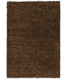 RugStudio presents Orian Tribeca Chunky Shag 1902 Brown Area Rug