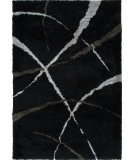 RugStudio presents Orian Uptown Bliss 1303 Black Machine Woven, Better Quality Area Rug