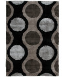 RugStudio presents Orian Uptown Lugnut 1301 Black Machine Woven, Better Quality Area Rug