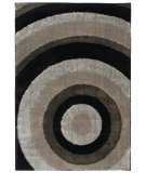 RugStudio presents Orian Uptown Ringmaster 1306 Black Machine Woven, Better Quality Area Rug