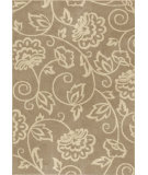 RugStudio presents Orian Utopia Abby 2401 Gold / Cream / Beige Machine Woven, Good Quality Area Rug