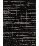 RugStudio presents Orian Utopia Uber 2415 Black / Gray Machine Woven, Good Quality Area Rug